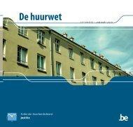 De huurwet - achtste editie augustus 2007