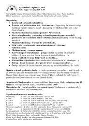 Styrelsemöte 2005-01-16 - Stall Balans