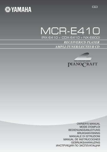 AMPLI-TUNER/LECTEUR CD RECEIVER/CD PLAYER - Prostage