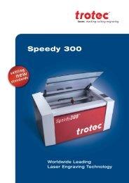 Speedy 300 - Trotec Laser
