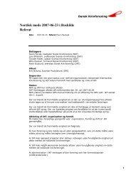 Nordisk møde 2007-06-23 i Roskilde Referat - Dansk Knivforening