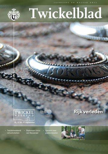Twickelblad najaar 2011