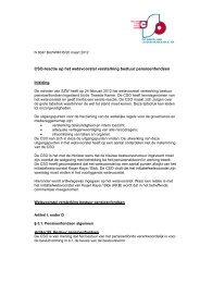 CSO-reactie op het wetsvoorstel versterking bestuur ... - Site-Supply