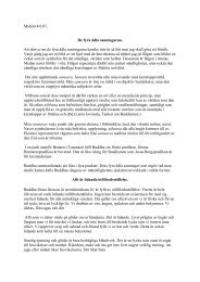 De fyra ädla sanningarna - BuddhismInfo.se