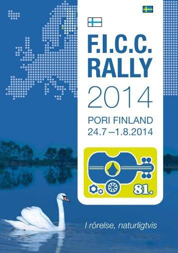 I rörelse, naturligtvis - Ficc Rally 2014