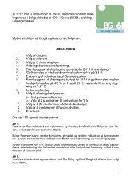 Referat afdelingsmødet 2012 - BS61 - Forside