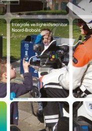 Factsheet Integrale Veiligheidsmonitor Noord-Brabant - PON