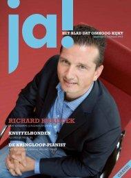 Lees het volledige interview met Richard Krajicek in - Ja! Magazine