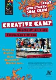 Program för Creative camp.pdf - Norrköpings kommun