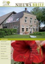 Nieuwsbrief December 2011 - Hospice Hoeksche Waard