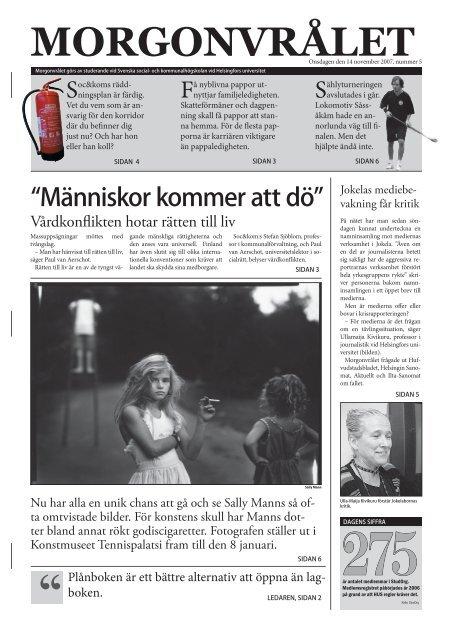 morgonvrålet07 - mall hela tidningen.indd - och kommunalhögskolan