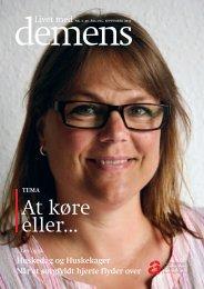 Magasinet Livet med Demens nr. 3 2010 her - Alzheimerforeningen