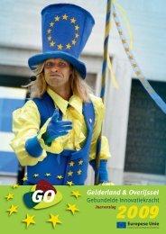 Jaarverslag 2009 - GO Gebundelde Innovatiekracht