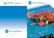 P R I J S L I J S T 2 0 1 3 - Top Systems