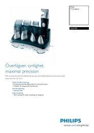 QG3190/00 Philips Trimningssats - CMS Electronics