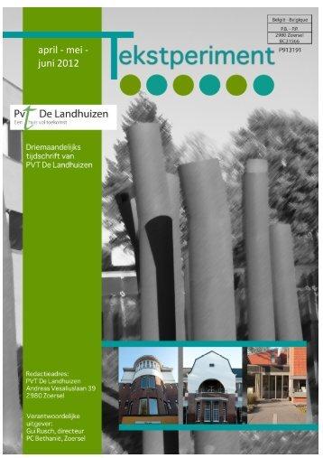 Tekstperiment nr. 2 - PVT De Landhuizen