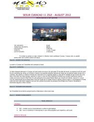 SEJUR CURACAO 11 ZILE - AUGUST 2012 - Nexus Travel