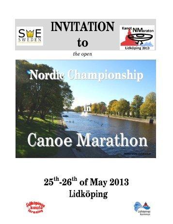 Canoe Marathon - Rovingas