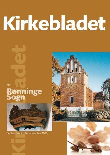 Kirkeblad nr. 4, 2010 - Rønninge Kirke