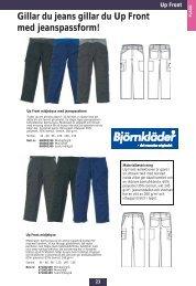Gillar du jeans gillar du Up Front med jeanspassform! - Sportxtra