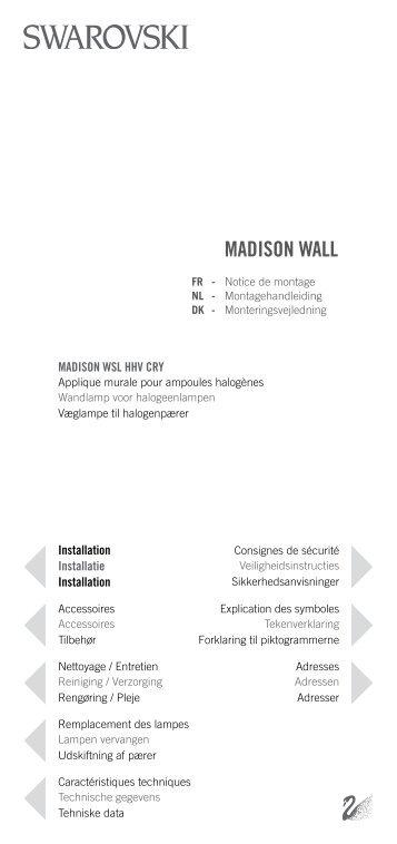 MADISON WALL - Swarovski