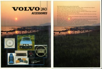 v-ol-vo 240 accessoires - Volvotips