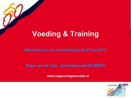 Voeding & Training