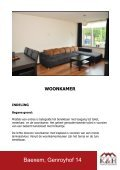 Vraagprijs € 159.000,- k.k. BAEXEM GENROYHOF 14 - Kierkels ... - Page 3