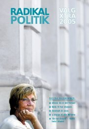 Radikale Venstre