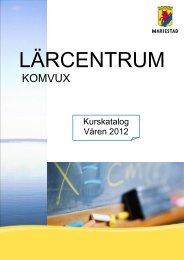 Välkommen till Komvux i Mariestad - Kanalskolan