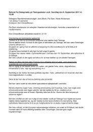 Referat fra Dialogmøde i Kirkeby den 30 - Svendborg kommune