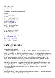 Haftungsausschluss - Pneumatik / Hydraulik GmbH Dippoldiswalde