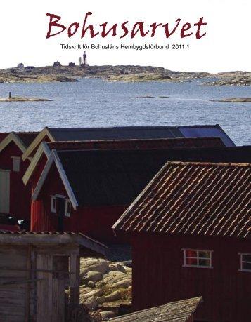 Bohusarvet 2011-1 - Bohusläns hembygdsförbund