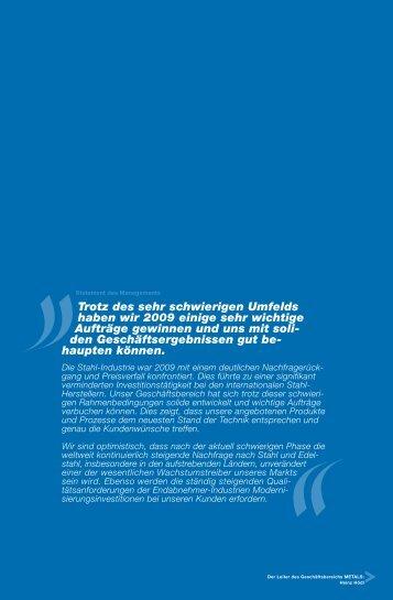 ANDRITZ: Geschäftsbericht 2009