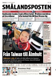 Från Taiwan till Älmhult - BFA Barnen framför allt