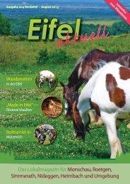 Eifel aktuell Ausgabe August 2013