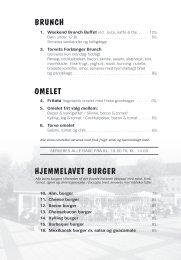 BRUNCH OMELET HJEMMELAVET BURGER - Torve Cafe