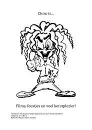 t Boekske - December 2012.pdf - Chiro Kierewiet