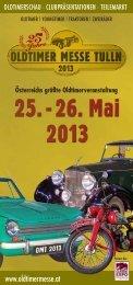 Flyer 2013 - Oldtimer Messe Tulln