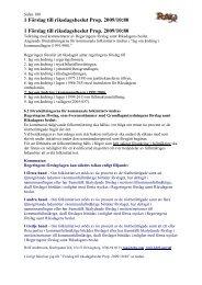 1 Förslag till riksdagsbeslut Prop. 2009/10:80 1 Förslag till ...