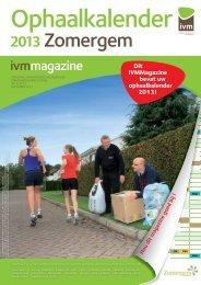 Ophaalkalender 2013 - Zomergem.be