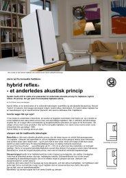 SA - introduktion til hybrid reflex teknologi.pdf - System Audio
