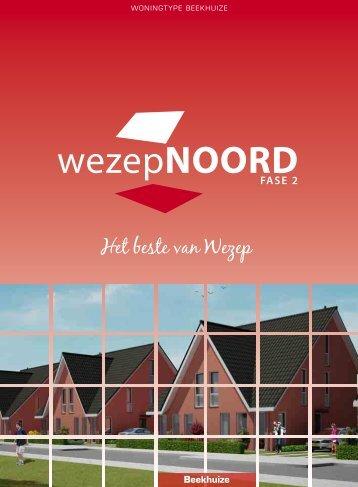 Brochure Type Beekhuize - Wezep Noord