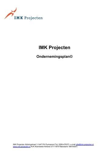 imk ondernemingsplan 2 free Magazines from IMK.PROJECTEN.NL imk ondernemingsplan