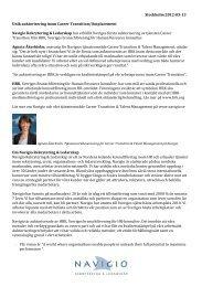 Stockholm 2012-03-13 Unik auktorisering inom ... - Mynewsdesk