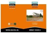 Brochure - Adriaan van den Heuvel makelaars en adviseurs