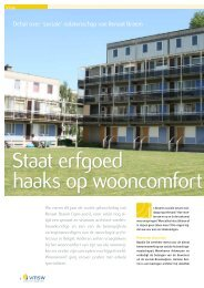 Staat erfgoed haaks op wooncomfort? - Vlaamse Maatschappij voor ...