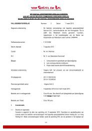Verslag 2 d.d. 7 maart 2013 - Van Gastel en Bal
