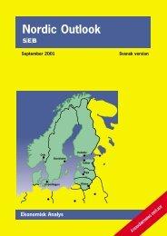 Nordic Outlook Ekonomisk Analys - Klas Eklund