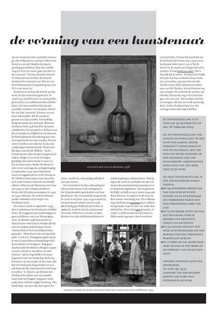 Museumkrant najaar 2002 - Historisch Museum Arnhem
